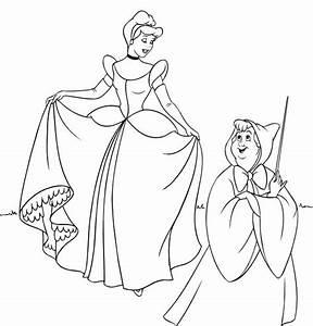 Dibujos Para Colorear De Las Princesas Disney Pequeocio