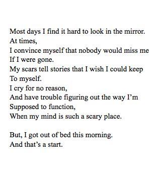 depression quotes  poems quotesgram
