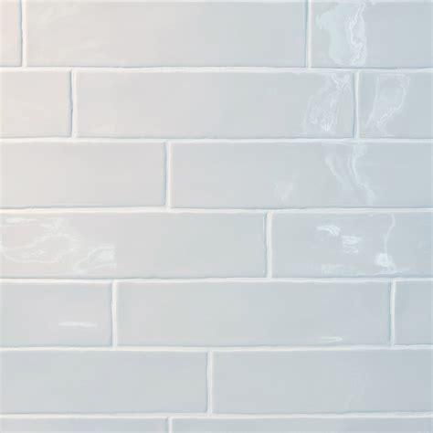 Gl Stone & Tile Rippled Edge Porcelain Subway Tiles White