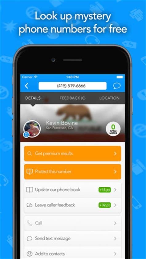 iphone lookup callersmart lookup phone book community caller