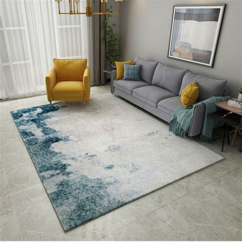 abstract ink modern carpets  living room home decor
