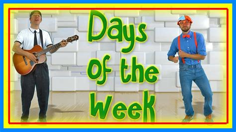 Days Of The Week Song  Nursery Rhyme Youtube