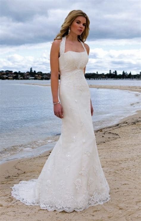 26 Sexy Wedding Dresses for Beach Weddings   ALL FOR