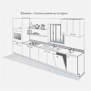 Profondeur Plan De Travail : profondeur standard plan de travail cuisine profondeur ~ Nature-et-papiers.com Idées de Décoration