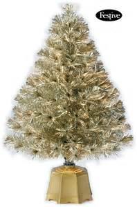 galaxy fibre optic christmas tree gold 3ft 0 9m 163 39 99 garden4less uk shop