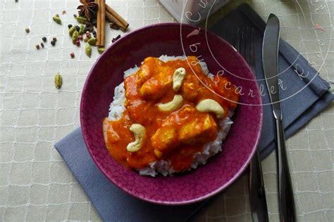 cuisine asiatique poulet curry de poulet sri lankais aux noix de cajou cuisine addict