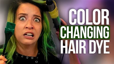 Full Head Of Color-changing Hair Dye!!! (beauty Break