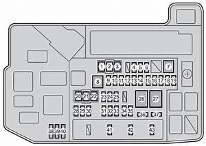 Toyota Prius V  2012  - Fuse Box Diagram