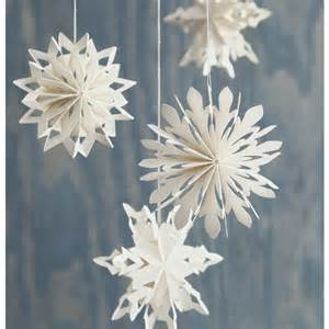 paper snowflake ornaments christmas paper treasures and crafts p