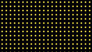 Wallpaper yellow spots black polka dots #000000 #ffefd5 ...