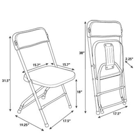 Samsonite Folding Chair Dimensions samsonite injection mold lightweight folding chair 49754