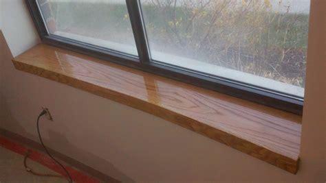 window sill custom oak window sill northeast custom carpentry