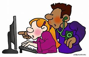 Student Technology Clipart