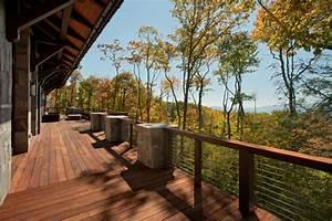 Modern Mountain Home - Modern - Deck - charlotte - by