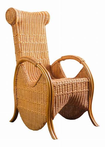 Wicker Chair Rattan Round Chairs Unique Shaped