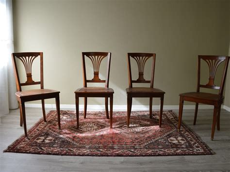 produttori di sedie sedia in stile in legno massello di produzione artigianale