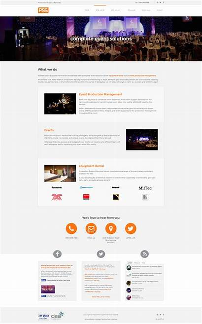 Services Production Support Website Web Bespoke