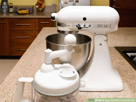 3 Ways To Buy Kitchen Accessories  Wikihow