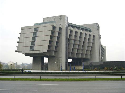 Soviet Brutalist Buildings From The Mid20th Century