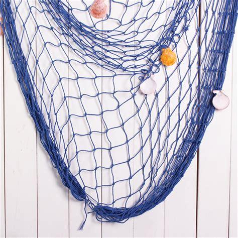 decorative fishing net table runner fishing net w shell decorative mediterranean
