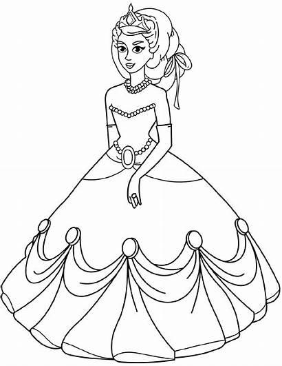 Coloring Princess Sheets Supercoloring Via