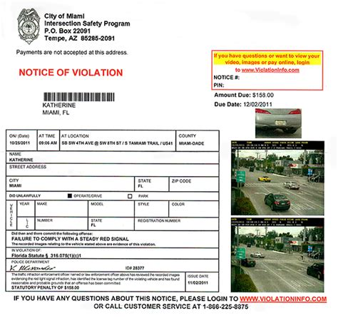 when do red light tickets come in the mail red light camera ticket ticketfit blogticketfit blog
