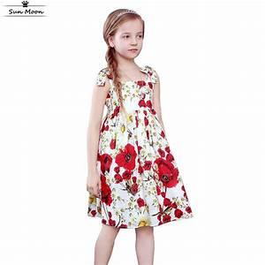 Brand kids clothes girls dresses summer 2016 children ...