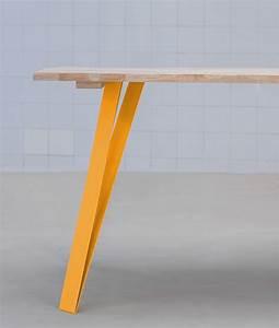 Pied De Table Metal Design : graf k fabricant de pieds de table et plateau en bois design ~ Melissatoandfro.com Idées de Décoration
