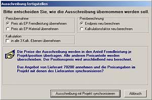 Kalkulationsfaktor Berechnen : ausschreibung ~ Themetempest.com Abrechnung