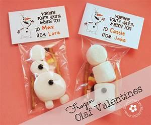 Frozen Olaf Valentines {Free Printable} - onecreativemommy.com