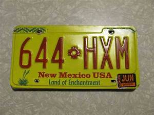 1999 NEW MEXICO LICENSE PLATE FREE SHIPPING see my other