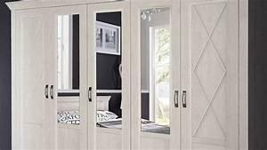 Kleiderschrank Pinie Weiß : kleiderschrank kashmir schrank in pinie wei mit spiegel 268 ~ Orissabook.com Haus und Dekorationen