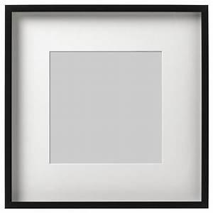 Cadre Noir Ikea : ribba cadre noir 50 x 50 cm ikea ~ Teatrodelosmanantiales.com Idées de Décoration