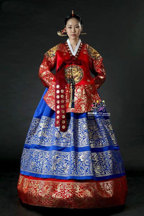 Pin di Korean traditional wedding hanbok,Evening party dress