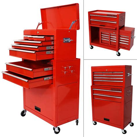 roller cabinet tool box 9 compartment tool trolley roller cabinet tool box ebay