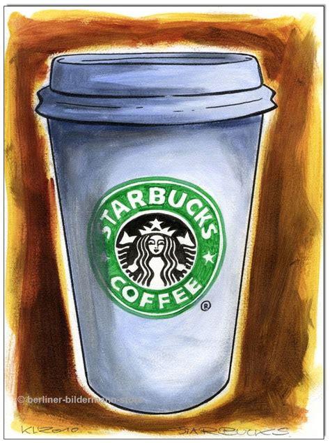 starbucks coffee original acryl auf malpapier
