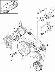 Porsche Panamera V-belt  Belts