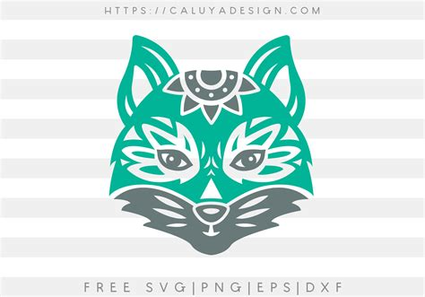 Download 105 free fox icons in ios, windows, material and other design styles. Free Mandala Fox SVG, PNG, EPS & DXF by Caluya Design