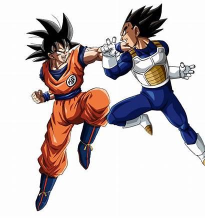 Goku Vegeta Vs Match Bucchigiri Render Deviantart