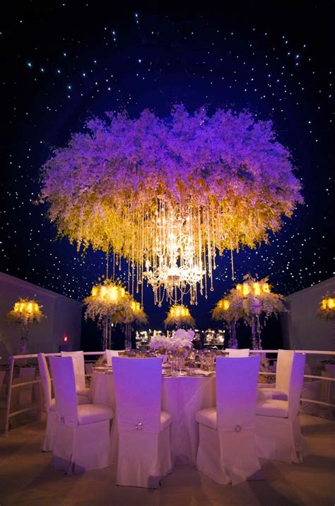 14 Picture Perfect Floral Chandeliers PreOwned Wedding
