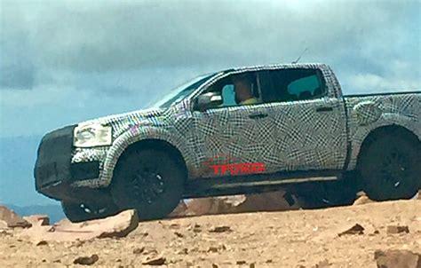 2020 ford ranger raptor spy   The Fast Lane Truck