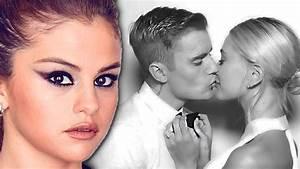 Selena Gomez Reacts To Justin Bieber Wedding - YouTube