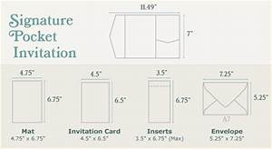 Diy wedding invitations guide cards pockets for Wedding invitation size in inches