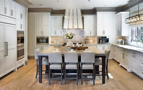 kitchen island plans with seating 40 kitchen island designs ideas design trends 8208