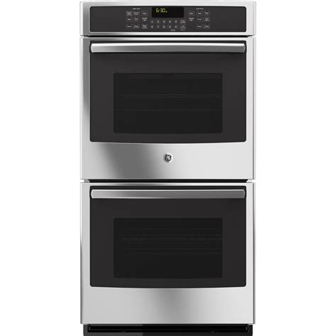 used wall ovens for shop ge self cleaning true convection electric wall 8795