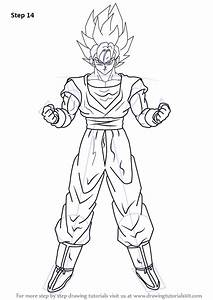 Learn How to Draw Goku Super Saiyan from Dragon Ball Z ...