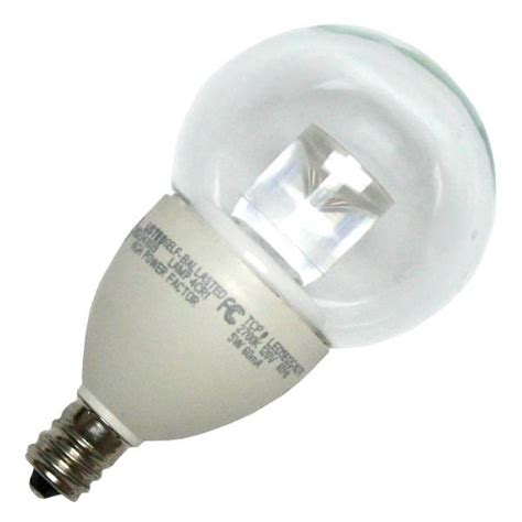 tcp 23499 led5e12g1627k g16 globe led light bulb