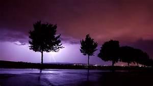 lightning, wallpaper