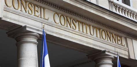 si鑒e du conseil constitutionnel le conseil constitutionnel censure une partie de la loi sur la fraude fiscale