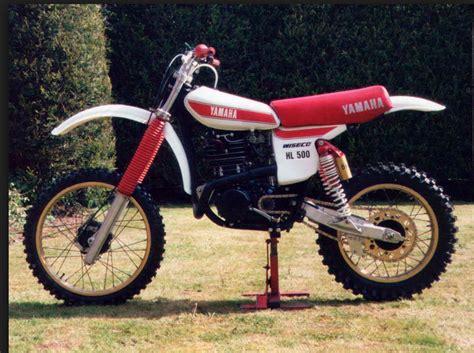 1978 yamaha powroll hl500 kit racer vintage dirt motocross bikes moto bike motorcycle